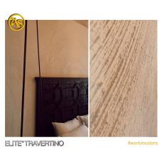 Декоративная штукатурка (покрытие для стен)  AS ELITE TRAVERTINO