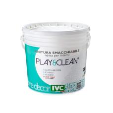 Краска Play&Clean белая 4л