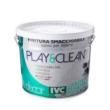 Краска Play&Clean белая 10л